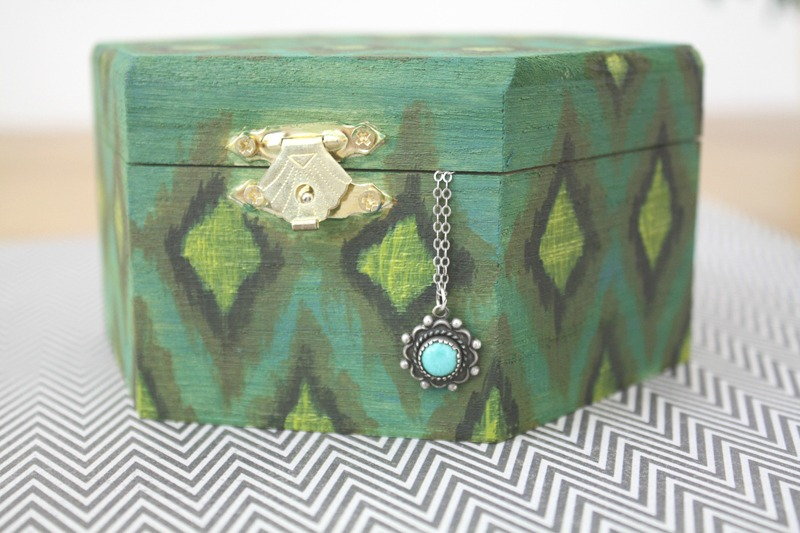 Ikat Diy Jewelry Box How To Make A