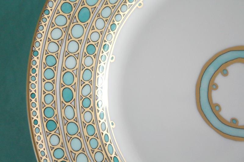 flatware, wedding china, kate spade, hand painted china