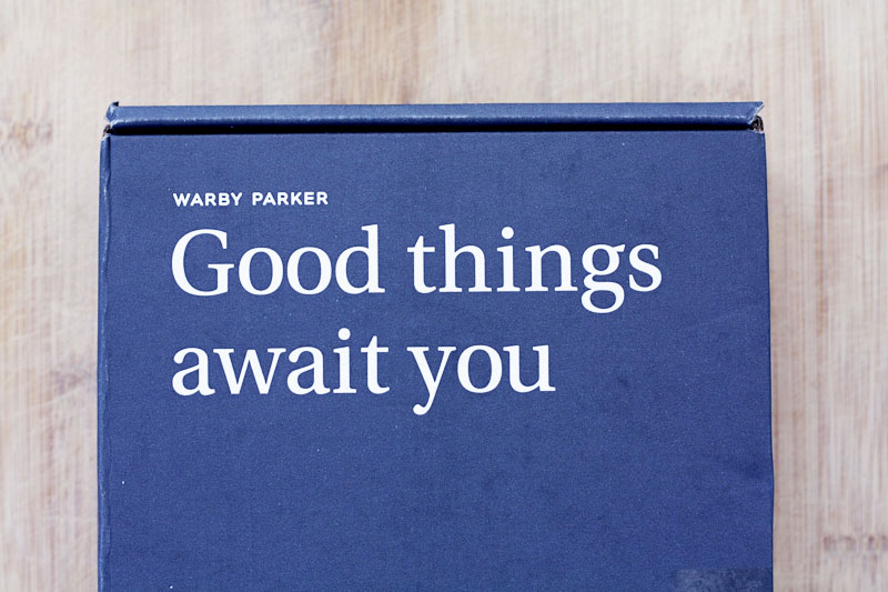 Warby parker home try on 11